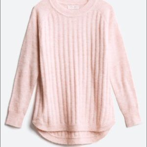 RD STYLE  Rowca Ribbed Pullover S | Blush